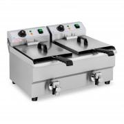 Fritadeira - 2 x 10 litros - 2 x 3000 W