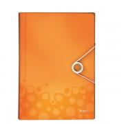 Mapa tip Proiect LEITZ Wow, PP - portocaliu metalizat