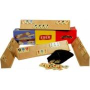 Joc de societate REMI Rummy Eser tabla mare cu piese de plastic 43cm