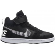 Nike Court Borough Mid (PS) Pre-School Shoe - sneakers - bambino - Black