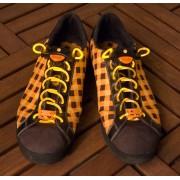 Light Up LED Laces GIALLI - lacci per le scarpe a LED