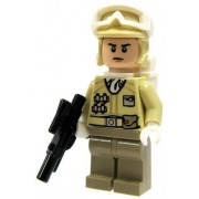 LEGO Star Wars Minifigure: Hoth Rebel Trooper with Blaster (Version 2)