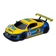 Slot car Á 1/32 / AUDI Audi R8 LMS BILSTEIN yellow / blue (SCALEXTRIC)