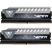 Memorija Patriot Viper Elite 8 GB kit (2x4GB), DDR4, 2666Mhz, CL16, GY, PVE48G266C6KGY
