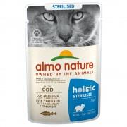 6x70г Anti Hairball Holistic Almo Nature, консервирана храна за котки - с пилешко