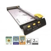 GHILOTINA CU DISC ELECTRON A4 FELLOWES, 320mm, 10 coli, 4 discuri de taiere A4 10-19 coli Trimmer hartie