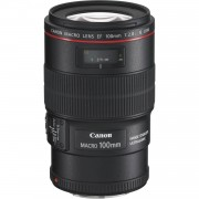 Canon Objetivo Canon EF 100mm f/2.8L Macro IS USM