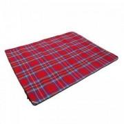 Одеало за пикник KING CAMP, червено, MAS-KG8001