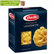 BARILLA Lasagnette le specialità multipack 12 pezzi grammi 500