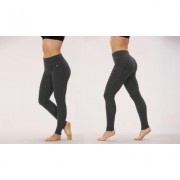 Women's Bally Total Fitness Bally Fitness Women's Tummy-Control Leggings. Plus Sizes Available. L Heather Charcoal Grey