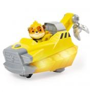 Vehicul si figurina cu sunete si lumini, Patrula Catelusilor, Rubble