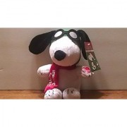 Peanuts Flying Ace Musical Christmas Plush