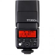 Pachet Godox Mini TT350C Blitz TTL dedicat Canon + Softbox