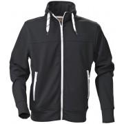 Printer Jog Lady Sweatshirt 2262037 Zwart - Maat L
