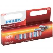 Philips 24x Philips AA batterijen power alkaline