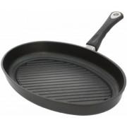 Tigaie grill AMT Gastroguss 3524G, 35cm (Negru)