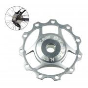 Kactus Rueda Jockey Pulley Shimano Aluminio Desviador Trasero SRAM 11t (plata)