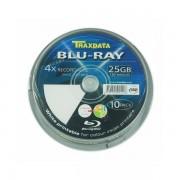 TRAXDATA OPTIČKI MEDIJ BLU RAY 25GB 4X PRINTABLE CAKE 10 90L753ITRA006