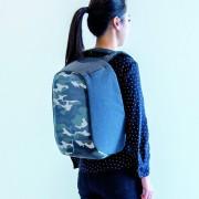 XD Design Bobby Compact anti-diefstal rugzak - Camouflage groen