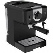 Espressor manual Krups XP320830, 1050 W, 15 bar, 1.5 l, Dispozitiv spumare (Negru)