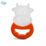 ELFI silikonska glodalica sa drškom RK 20 - narandžasta - O