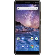 Nokia (Unlocked, Black/Copper) Nokia 7 Plus Dual Sim 64GB 6GB RAM