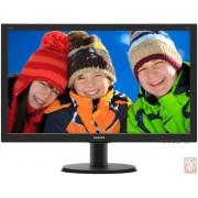 "23.8"" Philips 240V5QDAB, IPS LED, 16:9, 1920x1080, 5ms, 1000:1, 250cd/m2, Speaker 2x2W, VGA/DVI/HDMI"