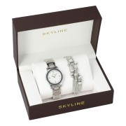SKYLINE dámská dárková sada hodinky s náramkem MP0010 ver2