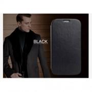KLD Кожен калъф за Samsung Galaxy Core I8260 I8262 - черен