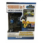 108000-in-1 Plastic Video Games System for Boys and Girls for Age Group - 5 - 18 years