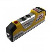 Nivela Laser cu Ruleta 2.5m si Boloboc Easy Fix Level Pro 3 LV03C