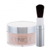 Clinique Blended Face Powder And Brush pennello per la cipria 35 g tonalità 02 Transparency