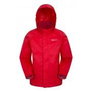 Mountain Warehouse Pakka Kids Waterproof Jacket - Red