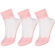 Women Embroidered socks by Treemoda (Pack of 3)