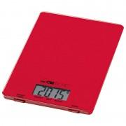 Clatronic KW 3626 Balança Digital de Cozinha Vermelha