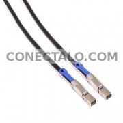 Cable MiniSAS-HD 4X SFF-8644 a MiniSAS-H 4X SFF-8644 6Gb 2m