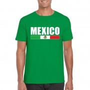 Bellatio Decorations Groen Mexico supporter t-shirt voor heren