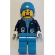 cty0929 Minifigurina LEGO City-Sef expeditie arctica cty0929