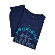 Casto chlapecké pyžamo BC8312 5-6 let tmavě modrá