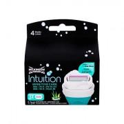 Wilkinson Sword Intuition Sensitive Care náhradní hlavice pro citlivou pokožku 3 ks pro ženy