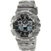 Casio G-Shock Analog Grey Dial Mens Watch - GA-100CM-8ADR (G581)
