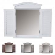 Wandspiegel Spiegelfenster mit Fensterläden ~ Variantenangebot