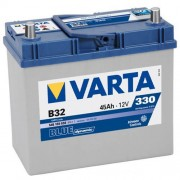 Varta Blue Dinamic 12V 45Ah 330A B32 Asia 545156 autó akkumulátor jobb+ (+AJÁNDÉK!)