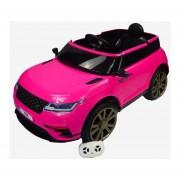 Carro Electrico Montable Con Control Rosa USB,Musica,Radio