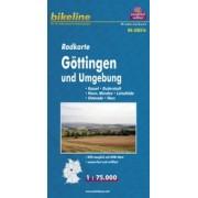 Fietskaart NDS16 Bikeline Radkarte Göttingen und Umgebung | Esterbauer