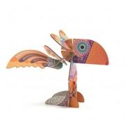 Puzzle przestrzenne ptaki, Puzzle 3d zwierzęta, zestaw 31 elementów DJECO DJ05635