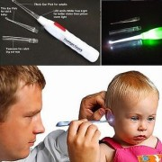 Safety Ear Cleaner Ear Pick Wax Remover Earpick - With Flash Light