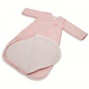 Sac de dormit PurFlo uni 0-3 luni (60 cm) Roz