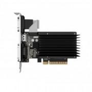 Видео карта GeForce GT 710, 2GB, Gainward SilentFX, PCI-E 2.0, DDR3, 64-bit, HDMI, DVI, VGA