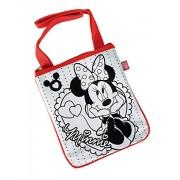 Minnie Color Me Mine Minnie Mouse Sling Bag, Multi Color